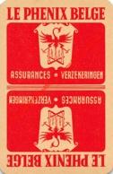LE PHENIX BELGE Assurances Verzekeringen - 1 Joker Kaart/carte/card - Cartes à Jouer Classiques
