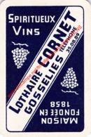 LOTHAIRE CORNET - Gosselies - Spiritueux Vins - 1 Joker Kaart/carte/card - Playing Cards (classic)