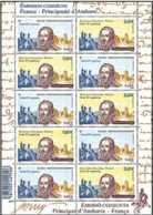 2012 France / French Andorra - King Henri IV Joint Issue - Rare Mixed Sheetlet 5 V Each Of Andorra Fr + France - MNH ** - Gemeinschaftsausgaben