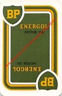 BP - Energol Motor Oil - 1 Joker Kaart/carte/card - Cartes à Jouer Classiques