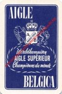 AIGLE BELGICA - Wereldkampioen B.A.B. Lager Bier - 1 Joker Kaart/carte/card - Cartes à Jouer Classiques