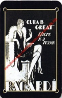 BACARDI - Cuba Is Great - 1 Speelkaart - 1 Carte à Jouer - 1 Playing Card. - Cartes à Jouer Classiques