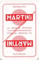 Vermouth MARTINI - 1 Joker Kaart/carte/card - Cartes à Jouer Classiques