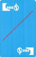 SES - 1 Speelkaart - 1 Carte à Jouer - 1 Playing Card. - Cartes à Jouer Classiques