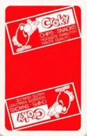 CROKY Chips Snacks - 1 Speelkaart - 1 Carte à Jouer - 1 Playing Card. - Cartes à Jouer Classiques