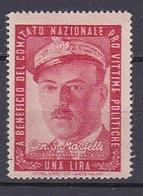 Timbre Erinnophilie  Comitato Nazionale Pro Vittime Politiche Gen. S. Martelli - Erinnophilie