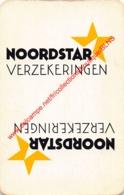 NOORDSTAR Verzekeringen - 1 Speelkaart - 1 Carte à Jouer - 1 Playing Card. - Cartes à Jouer Classiques