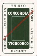 ARISTA - CONCORDIA - HELL'S PILS - 1 Speelkaart - 1 Carte à Jouer - 1 Playing Card. - Cartes à Jouer Classiques