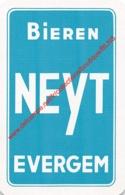 Bieren NEYT - Evergem - 1 Speelkaart - 1 Carte à Jouer - 1 Playing Card. - Cartes à Jouer Classiques