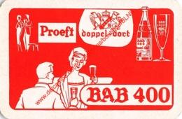 BAB 400 - DOPPEL-DORT - 1 Speelkaart - 1 Carte à Jouer - 1 Playing Card. - Cartes à Jouer Classiques