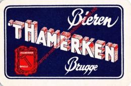 Bieren 'T HAMERKEN - Brugge - 1 Speelkaart - 1 Carte à Jouer - 1 Playing Card. - Cartes à Jouer Classiques
