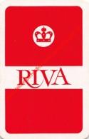 RIVA - 1 Speelkaart - 1 Carte à Jouer - 1 Playing Card. - Cartes à Jouer Classiques