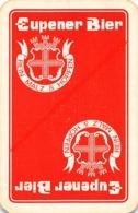 EUPENER BIER - Rein Malz Hopfen - 1 Speelkaart - 1 Carte à Jouer - 1 Playing Card. - Cartes à Jouer Classiques