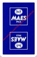 Maes Pils - 1 Joker Kaart/carte/card - Cartes à Jouer Classiques