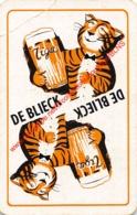 TIGER - DE BLIECK - 1 Speelkaart - 1 Carte à Jouer - 1 Playing Card. - Cartes à Jouer Classiques