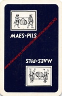 Maes Pils - 1 Speelkaart - 1 Carte à Jouer - 1 Playing Card. - Cartes à Jouer Classiques