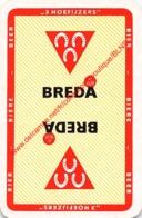 BREDA - 3 HOEFIJZERS - Bier Biere Beer - 1 Speelkaart - 1 Carte à Jouer - 1 Playing Card. - Cartes à Jouer Classiques