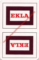 EKLA - 1 Speelkaart - 1 Carte à Jouer - 1 Playing Card. - Cartes à Jouer Classiques