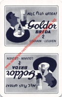 GOLDOR - BREDA - Leuven - 1 Speelkaart - 1 Carte à Jouer - 1 Playing Card. - Cartes à Jouer Classiques