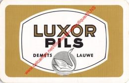 LUXOR Pils - Demets Lauwe - 1 Speelkaart - 1 Carte à Jouer - 1 Playing Card. - Cartes à Jouer Classiques