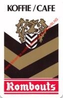 Rombauts Koffie Cafe - 1 Speelkaart - 1 Carte à Jouer - 1 Playing Card. - Cartes à Jouer Classiques