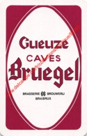 CAVES BREUGEL - Brasserie Brouwerij BRABRUX - 1 Speelkaart - 1 Carte à Jouer - 1 Playing Card. - Cartes à Jouer Classiques