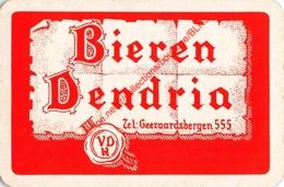 Bieren DENDRIA - 1 Speelkaart - 1 Carte à Jouer - 1 Playing Card. - Cartes à Jouer Classiques