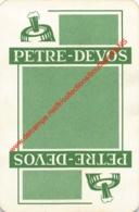 PETRE-DEVOS - 1 Speelkaart - 1 Carte à Jouer - 1 Playing Card. - Cartes à Jouer Classiques