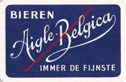 AIGLE-BELGICA Bieren - Immer De Fijnste - 1 Speelkaart - 1 Carte à Jouer - 1 Playing Card. - Cartes à Jouer Classiques