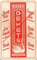 Bieres DEMETS - Luxor Pils - Oude Jan - 1 Speelkaart - 1 Carte à Jouer - 1 Playing Card. - Cartes à Jouer Classiques