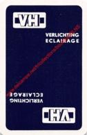 VH Verlichting Eclairage - 1 Speelkaart - 1 Carte à Jouer - 1 Playing Card. - Cartes à Jouer Classiques