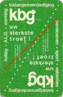 KBG Hasselt - 1 Speelkaart - 1 Carte à Jouer - 1 Playing Card. - Cartes à Jouer Classiques