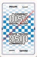 PHILIPS Hasselt - Compact Disc Digital Audio - 1 Speelkaart - 1 Carte à Jouer - 1 Playing Card. - Cartes à Jouer Classiques