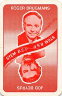 JOB BEYRUS - ROGER BRUGMANS - B.S.P. - 1 Speelkaart - 1 Carte à Jouer - 1 Playing Card. - Cartes à Jouer Classiques