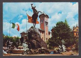88882/ ASIAGO, Fontana Monumentale E Municipio - Italia