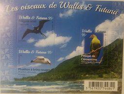 RL) 2016 WALLIS & FUTUNA, THE BIRDS, NATURE, FAUNA, BEACH, MNH, S/S ( XI -2018) - Unused Stamps