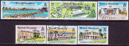 British Honduras 1971 SG #301-06 Compl.set Used New Capital - British Honduras (...-1970)
