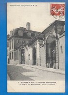 78 ++ MANTES - MAISONS PARTICULIÈRES, RUE BAUDIN, N° 6 ET N° 10, PORTES DU XVIIIe - 1908 - Mantes La Jolie