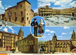 Espagne / Salamanca / Vue Generale / Casa De Las Conchas / Plaza Mayor / Universidad / Catedral Nueva - Salamanca