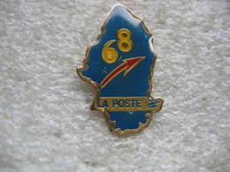 Pin's De La Poste Dépt 68 - Postes