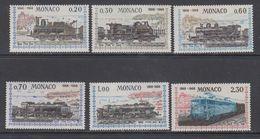 Monaco 1968 Trains / Locomotives 6v ** Mnh (43989) - Ongebruikt