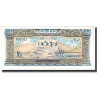 Billet, Cambodge, 50 Riels, KM:7d, TTB - Cambodge