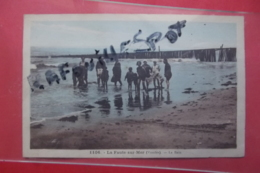 Cp La Faute Sur Mer La Bain Couleur N 1106 - Frankreich