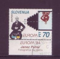 Slovenia 1994 - Europa, 1v Usato - Slovenia