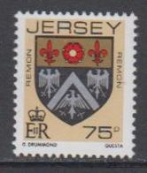 Jersey 1987 Coat Of Arms / Remon 1v ** Mnh (43989C) - Jersey