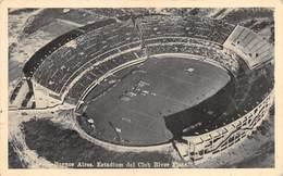 """0681 """"BUENOS AIRES . REP. ARGENTINA - ESTADIUM DEL CLUB RIVER PLATE"""" CART. ORIG. SPED. 1951 - Argentina"""