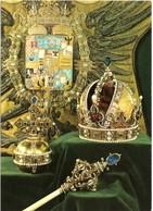 AT-9: WIEN: Kunsthistorisches Museum: Schatzkammer: Die Krone Kaiser Rudolphs II Mit Dem Reichsapfel Und Zepter - Museums