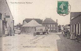 51 /   Vert La Gravelle : La Place  Forain     ///   REF  JUILLET .19  //   BO.51 - Vertus