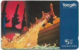 New Zealand - Brooms, Mickey Mouse III (Dealer's), ADCB, 1996, 5.500ex, Used - Neuseeland