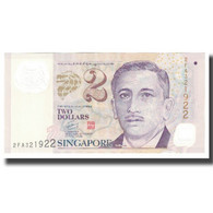 Billet, Singapour, 2 Dollars, KM:38, NEUF - Singapore